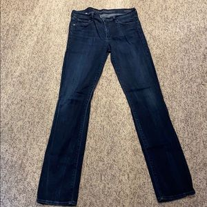 Citizens of Humanity straight leg jeans size 30